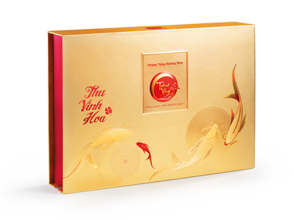 Trăng Vàng Hoàng Kim Vinh Hoa Đỏ Vàng